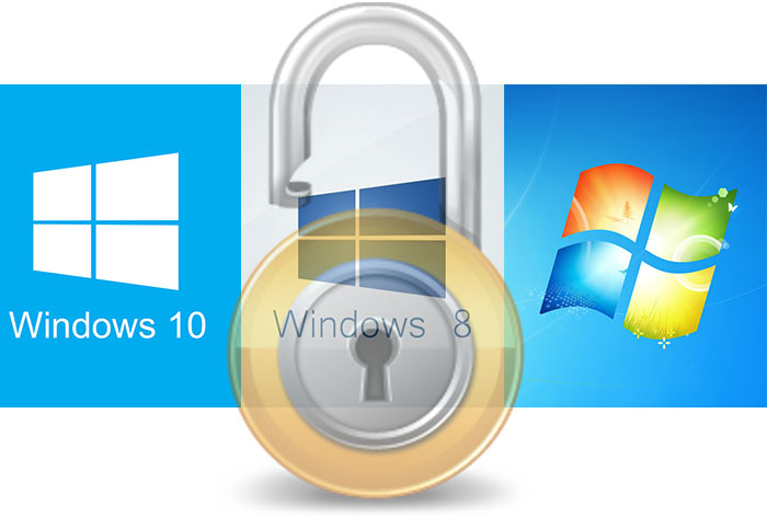 Windows 7-8-10 User Password Hack