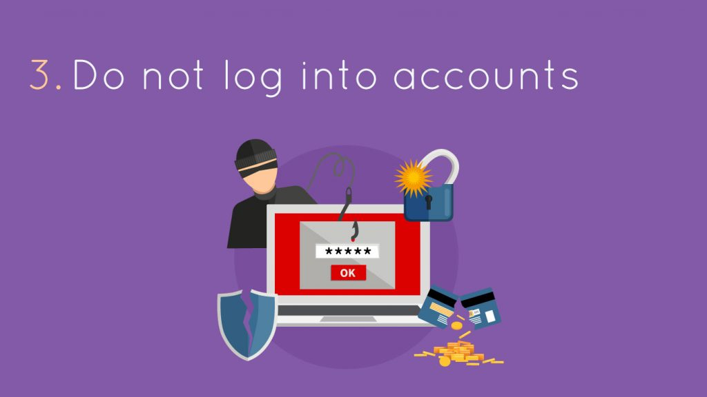 not login into accounts